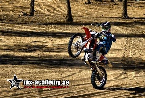 Training Motocross Riding in Dubai