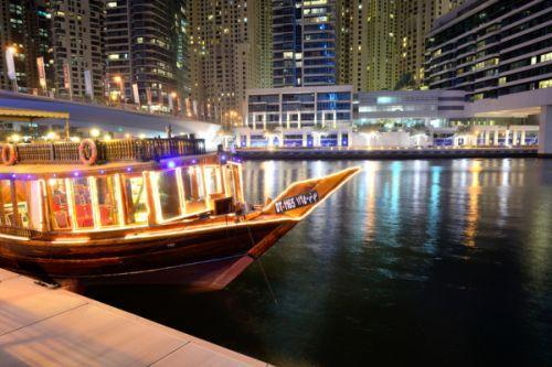Dubai attractions - Dhow Cruises
