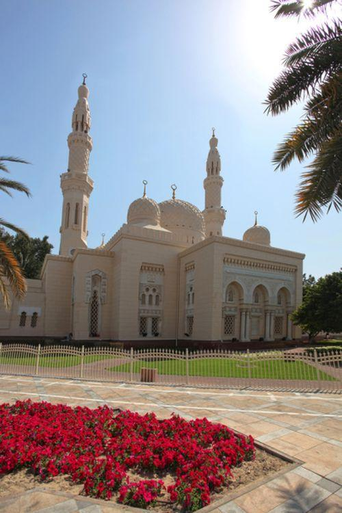Dubai attractions - Jumeirah Mosque