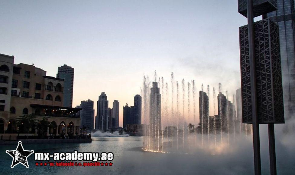 Places to visit in Dubai - The Fountain & Dubai Aquarium at Dubai Mall